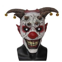 $enCountryForm.capitalKeyWord UK - Toy Jingle Jangle The Clown Horror Latex Halloween Scary Head Mask Free Shipping Masks Wholesale For Masquerade Balls