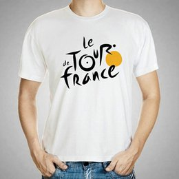 $enCountryForm.capitalKeyWord Australia - Race t shirt Le Tour de France short sleeve tops Bicycle sport game fadeless tees Unisex colorfast clothing Pure color modal tshirt