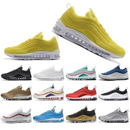 Cheap Shoes For Man NZ - Cheap New Kaleidoscope SEOUL London Summer of love Running Shoes For Men Women Mustard SE Mens Trainers Designer Sports Sneakers 36-45