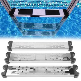 step pedal Australia - New Arrival Safety Swimming Pool Ladder Pedal Rung Steps Stainless Steel Replacement Anti Slip Ladder Swimming Pool Accessary-30