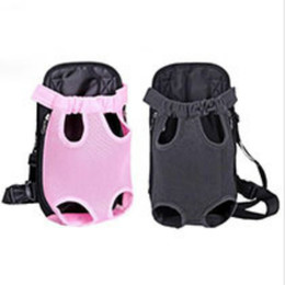 $enCountryForm.capitalKeyWord UK - Hot pet backpack supplies pet breathable travel bag pet shoulder chest bag dog out of the oblique bag