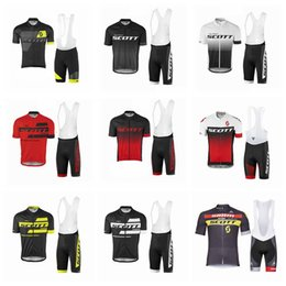 $enCountryForm.capitalKeyWord Canada - SCOTT team Cycling Jerseys Short Sleeves Jersey Sets Summer Outdoor Bike Shirt Sports Clothing Bib Shorts Set 52266