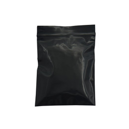 Opaque plastic bags online shopping - Storage Bag Opaque Plastic Bag Reclosable Ziplock Packing Self Seal Package Bags Black Zip Lock Travel Organizer Set XX
