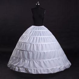 $enCountryForm.capitalKeyWord Australia - High Quality 2018 White and Black 6 Hoops Party Dress Petticoat Ball Gowns Gauze Skirt Crinoline Under skirt Accessories Costume