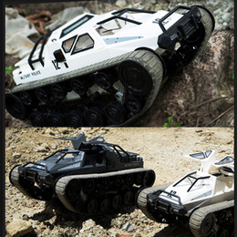 high speed rc drift car NZ - 1 12 2.4G Drift RC Tank Car High Speed Full Proportional Control Vehicle Model Toy FJ88
