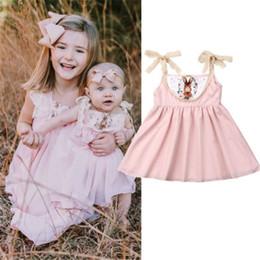 cb07559bd Newborn Infant Baby Girls Kid Easter Bunny Short Dress Outfits Summer Hot  Rabbit Pattern Festival Dress Strap Lace Sundress 0-3T