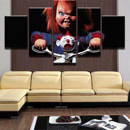 Figure Films Australia - Horrible Film Kind Spielen,5 Pieces Home Decor HD Printed Modern Art Painting on Canvas (Unframed Framed)