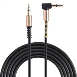 L shape cabLe online shopping - VBESTLIFE Audio Cables mm Male to Male Aux Cable L Shaped m Retractable Cord for Car Audio Speaker Earphone Spring Cables