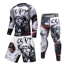 $enCountryForm.capitalKeyWord Australia - 2019 new sports compression Rashguard t-shirt male VS VS sports 3D fitness tights Bodybuild Cross fit Rash Guard fitness