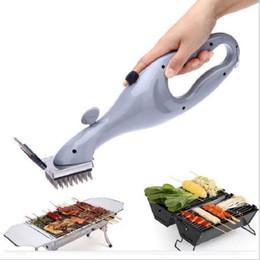 شواء الفولاذ المقاوم للصدأ فرشاة تنظيف شواء في الهواء الطلق مع نظافة البخار شواء الملحقات أدوات الطبخ C19041501