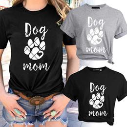 29f8159f2 Cool Women T-shirt Dog Mom Letter Casual Printed Printing Graphic Tees  Shirt Female Funny Fashion Tee T-shirt Tops