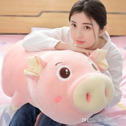 $enCountryForm.capitalKeyWord Australia - 20170723 New Year Hot Sale Plush Toys Cute And Soft Pink Pig Pillow Doll For Girls Gift Of Free Shipping