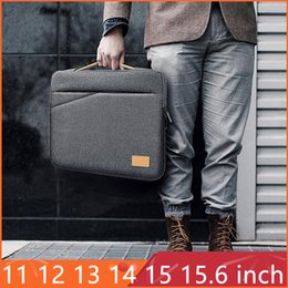 "laptop 14 inch notebook Australia - 15.6 inch Waterproof Laptop Sleeve Bag for Laptop 11 12 13 13.3 14 15.6"" Men Notebook Bag Case For Macbook Air 13 15 Pro 15.4 SH190924"
