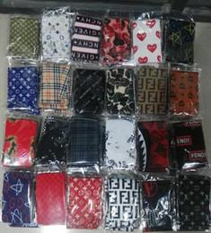 Опт Дизайнер Durag (40+ дизайнов) Для мужчин и женщин Модный бренд Silky Durags Headwraps Хип-хоп Кепки Dropshipping