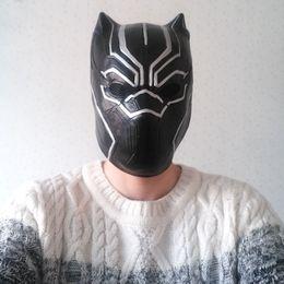 $enCountryForm.capitalKeyWord NZ - Avengers Black Panther Cosplay Mask Mardi Gras Carnival Fashion Style Superhero Costumes Male Person Casual Apparel