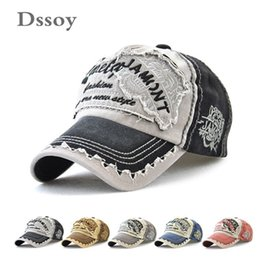 Skull Cap Ball Australia - Quality New Designer Curved Washed Denim Baseball Caps Letters Embroidery Skull Cotton Sports Hats Adjustable Strapback For Mens Womens