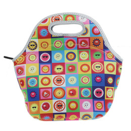Keep Box NZ - Factory Waterproof Women Tote Thermal Insulation Neoprene Lunch Box 3d Print Food Fresh Keeping Thicker Baby Lunch Bags For Kids