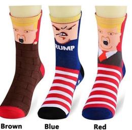 Wools socks online shopping - Donald Trump socks President Donald Trump Mid calf Sock US Presidential Election Men Women D Print socks KKA6334
