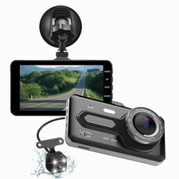 mini hd recorder NZ - Car Recorder Touch Screen 4 Inch HD Mini Night Vision Motion Detection 12 Million Pixels Driving Recorder car dvr