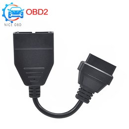 $enCountryForm.capitalKeyWord Australia - 12 PIN to 16Pin For G-M for D-aewoo Adapter OBD OBD2 Connector Diagnostic tool 12pin to 16 pin Cable obd obd 2 tools the car