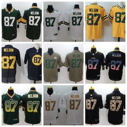 14b9e264a 2019 Mens 87 Jordy Nelson Football Jersey 100% Stitched Embroidery Packers  Jordy Nelson  87 Color Rush Football Shirts