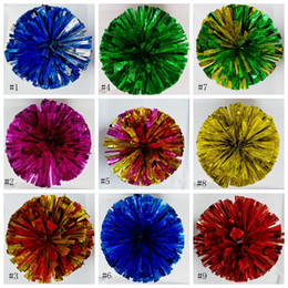 Chinese  pompoms Cheerleader uniform hand flower cheer ball dance ball school dance square dance performance props pompoms EEA293 manufacturers