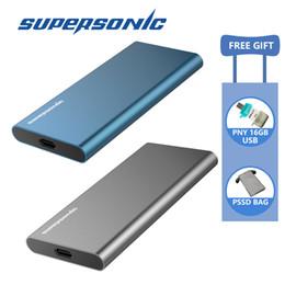 Disque SSD portable Supersonic P20 128GB 256GB 512GB 1TB Typc-C USB3.0 SSD externe pour ordinateur portable Android