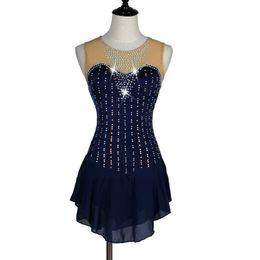 $enCountryForm.capitalKeyWord NZ - crystal custom ice skating dress figure skating dress woman girl adult Customizable color size