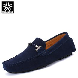 driving shoes NZ - URBANFIND New Arrival Men Fashion Driving Shoes 4 Colors Big Size 38-47 Breathable Soft Male Summer Slip-on Loafers Casual Shoes