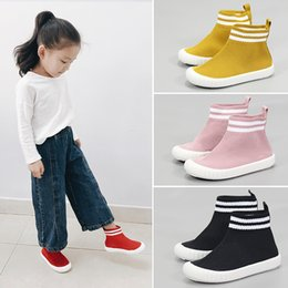 $enCountryForm.capitalKeyWord Australia - Mudibear Boys Fly Knit High Top Socks Shoes Toddler Girls Sport Shoes Children Breathable Running Sneakers Kids School Sneakers Y19062001