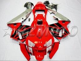 Honda F5 Australia - New Injection Mold Motorcycle ABS Full Fairings kit Fit for HONDA CBR600RR F5 2003 2004 03 04 600RR CBR600 nice red