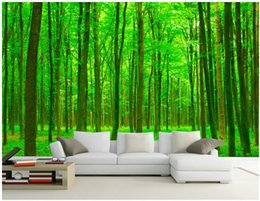 SunShine houSe online shopping - WDBH d wallpaper custom photo HD Sunshine Forest background painting home decor living room d wall murals wallpaper for walls d
