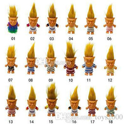 $enCountryForm.capitalKeyWord Australia - 2019 new arrival hot sell troll doll funny collectible toys creative silicone action figures toys Adult decompression doll
