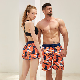 $enCountryForm.capitalKeyWord Australia - Swim Clothing Summer Men Women Board Shorts Beach Swimming Shorts Surfing Swimwear Male Female Swimsuit Print Boardshorts