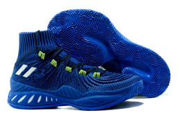 $enCountryForm.capitalKeyWord NZ - cheaper Hot sale Crazy Explosive Basketball Shoes For Men High top quality Sports Trainer Sneakers