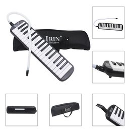 key melodica UK - 32 Piano Keys Melodica Musical Education Instrument for Beginner Kids Children Gift with Carrying Bag Black