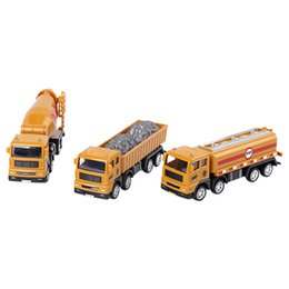 Chinese  Mini Construction Vehicle Engineering Car Truck Model Toy Kids Gift manufacturers
