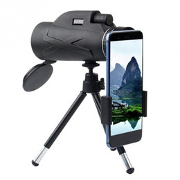 telescope military NZ - BAK4 Prism High Magnification List Monoculars Low Light Level Night Vision Waterproof Moisture Military Concert Telescope 80x100