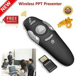 Los detalles sobre Presentador inalámbrico de 2,4 GHz USB Control Remoto Presentación ratón Lase lápiz puntero en venta