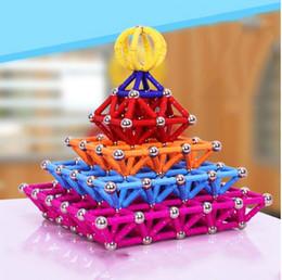 Bares Toy atacado Magnet Magnetic Blocos de Construção Construção de Brinquedos Para Crianças Designer brinquedos educativos para crianças de metal Balls em Promoção