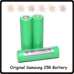 $enCountryForm.capitalKeyWord Australia - Authentic 2500mah 18650INR 25R M 18650 Battery With Samsung Lithium Battery MSDS Report - 2500mah 20A Rechargeable Batteries for 18650 Ecig