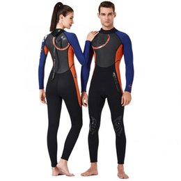 sail clothes 2020 - 1.5mm Breathable Diving Wetsuit One-Piece Long Sleeve Unisex Surfing Swimming Sailing Clothes Snorkeling Diving Accessor
