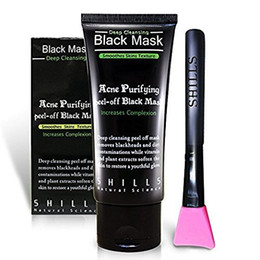 acne purifying peel off black mask Australia - SHILLS Blackhead Remover, Pore Control, Skin Cleansing, Purifying Bamboo Charcoal, Peel Off Facial Black Mask