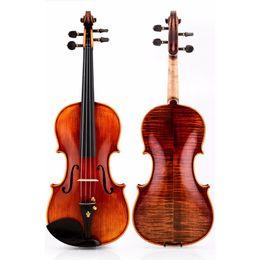 Musical Instruments Acoustic Australia - Italian christina V05C handmade professional wood violin4 4 luthier stradivarius musical instruments 4 4 Grading violin