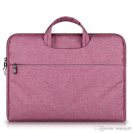 $enCountryForm.capitalKeyWord Australia - Briefcase Large Capacity Laptop Handbag Notebook Bag For Men Women Travel Bussiness For 11 12 13 14 15.6 Inch Macbook Pro PC Sleeve Case