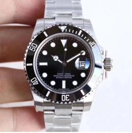 new shanghai watches 2019 - U1 Factory Hot Wristwatches Sapphire Black Ceramic Bezel Stainless Steel 40mm 116610LN 116610 Automatic Mechanical Mens