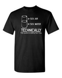 $enCountryForm.capitalKeyWord Australia - Technically The glass is completely full funny t shirt