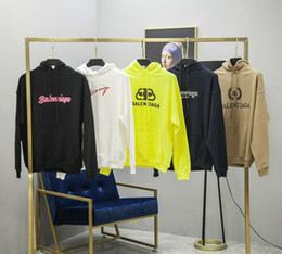 Long needLes online shopping - 2019 Autumn and winter BLCG Men s and Women s Same Sanitary Clothes Needle shaped Hoodies Women s sdesigner Sweatshirts ZDL