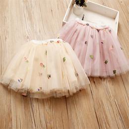 $enCountryForm.capitalKeyWord Australia - INS Little Girls Tutu Skirt Princess Quality Gauzy Skirt Fruits Designs Mini Lovely Children Girls Ruffles Party Dresses Children Clothes