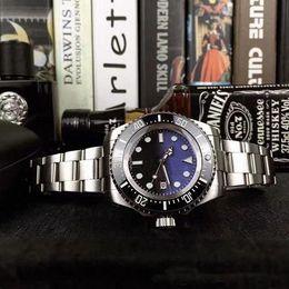 44mm Ceramic Bezel Australia - 2019 Luxury Men Watch SEA-DWELLER Ceramic Bezel 44mm Stanless Steel 116660 Automatic High Quality Business Casual Mens Watch Wristwatches